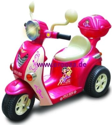 Elektro Kinder ROLLER scooter Motorrad Auto / Elektroauto Kinderauto Kinderroller 77P -